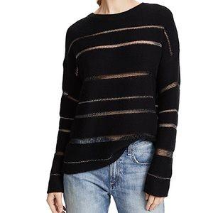 Rails Daphne cashmere Sweater in Milky Way